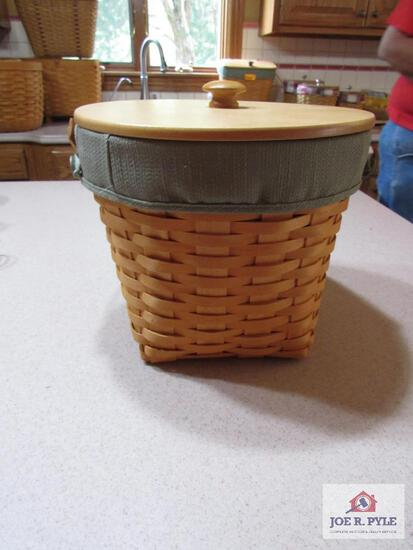 "Longaberger Basket 9"" Measuring #19763 2002"