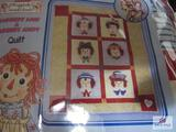 Raggedy Ann And Andy Throw