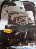 90X90 Comforter Cow Print
