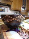 Wooden Bowl Made In Costa Rica