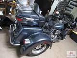 2015 Harley Davison trike tri glide model with 4073 miles vin # 1hd1mal19fb852958 with vincamines