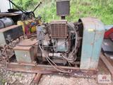 AC Delco diesel generator model e7160