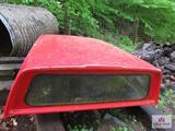 leer red truck topper short wheel base