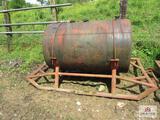 approx. 500 gal. fuel tank
