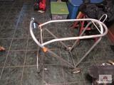 aluminum saddle stand