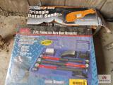 Sander And Repair Kit.