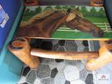 Painted Horse Table