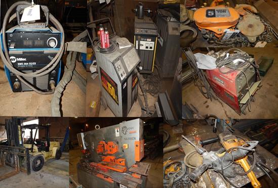 Machine Shop Contents, Tools & more
