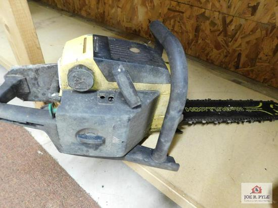 McCulloch Pro Mac 610 electronic ignition gas-powered chain saw