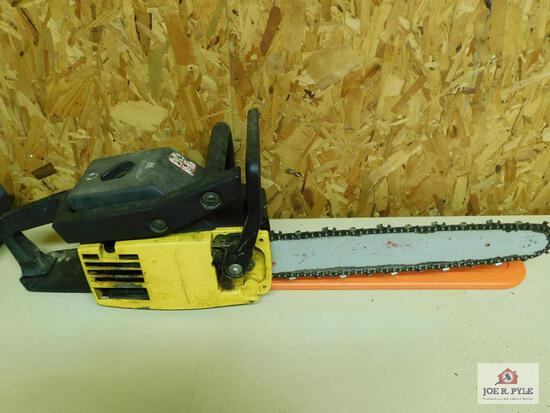 McCullock brand chain saw