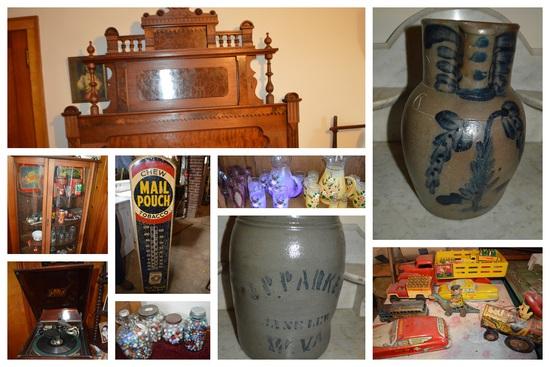Huge Lifetime Accumulation Antique Auction