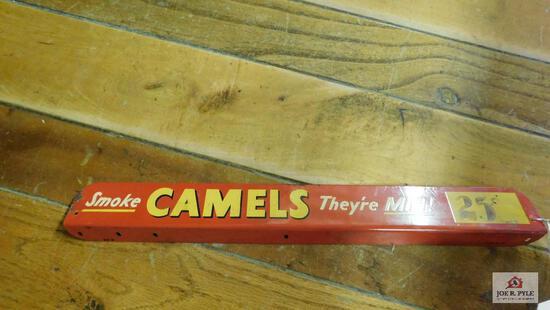 Vintage Camels sign