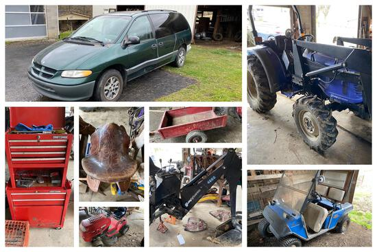 Farm Equipment, Tools, Collectibles & more