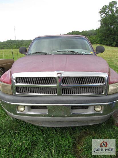 1998 Dodge Ram 1500 4X4 155362 Miles Vin: 1B7Hf16Zxxs163864