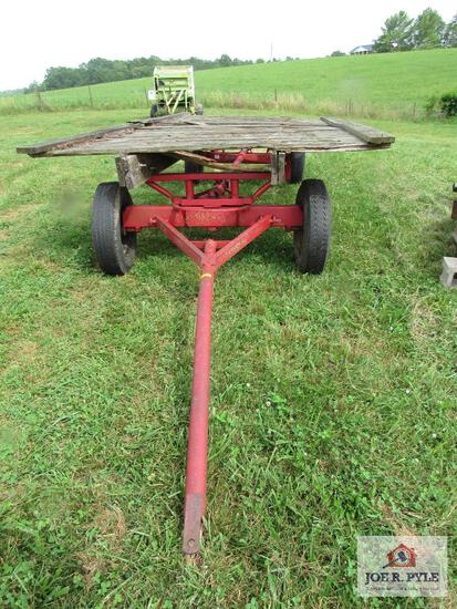 Hay Wagon And Running Gear