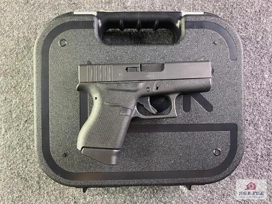 {12} Glock Model 43 9x19mm |SN: ADFT338