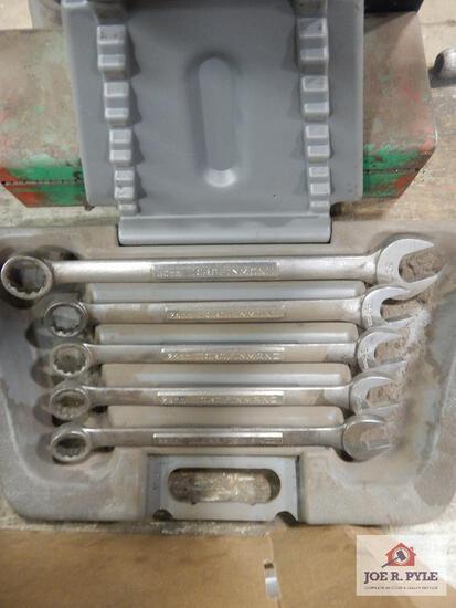 Craftsman 5-piece metric combo wrench set