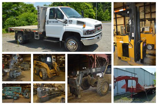 Christy Machine Retirement Online Auction