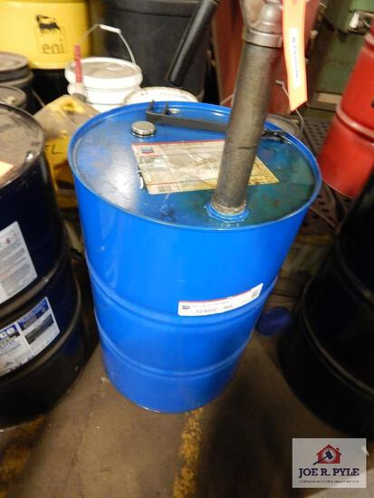 Barrel of 80W-90 gear oil (about 1/2 full)