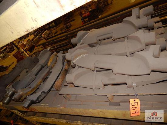 Steel mine car parts