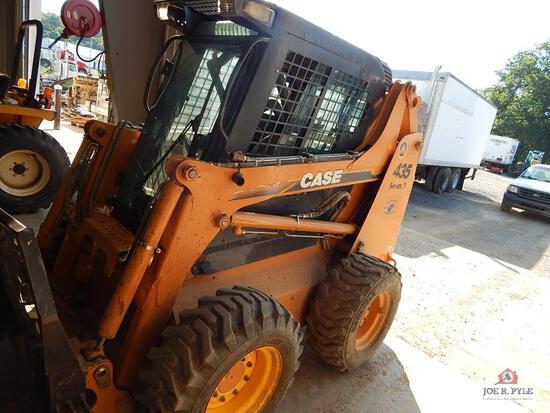 Case 435 Series 3 skid steer w/ bucket (1631 hours) VIN: JAF5098