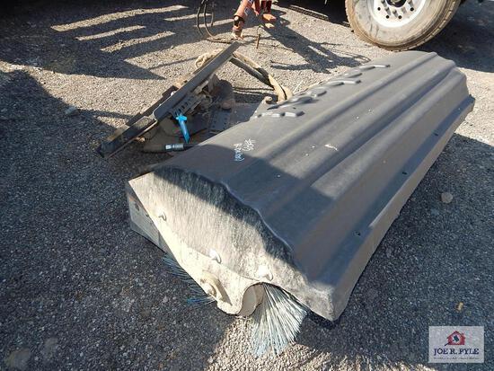 Bobcat skid steer broom