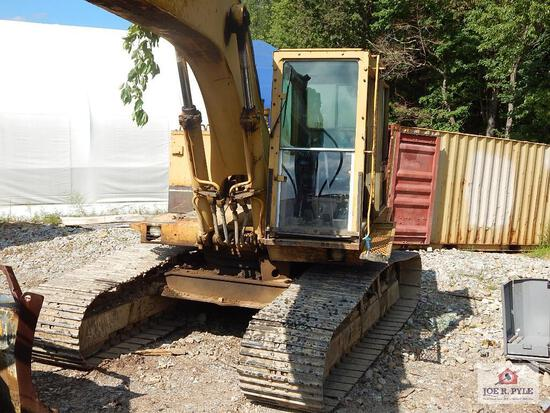 Caterpillar 225 BLC Excavator (11641 hours) Serial #: 7OV18047