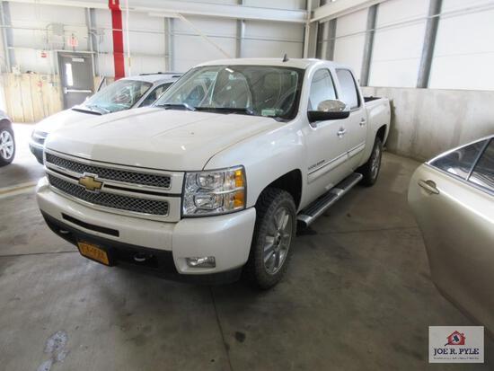 2012 Chevrolet Silverado, VIN # 3GCPKTE76CG261536