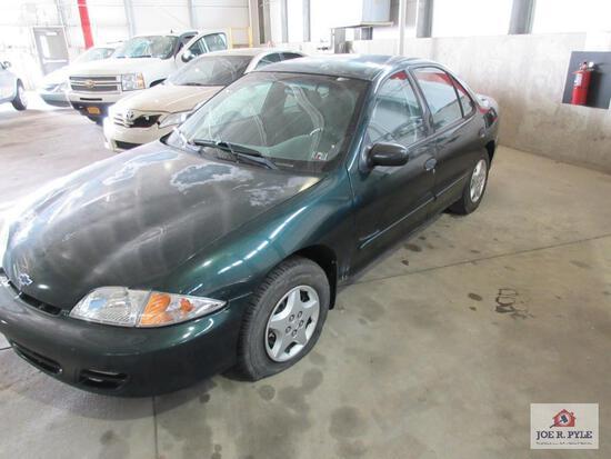 2002 Chevrolet Cavalier, VIN # 1G1JC524127172047