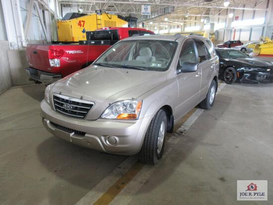 2008 Kia Sorento Multipurpose Vehicle (MPV), VIN # KNDJC735485839658