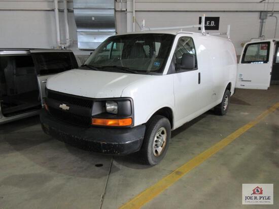 2010 Chevrolet Express Van, VIN # 1GC2GTBG0A1127620