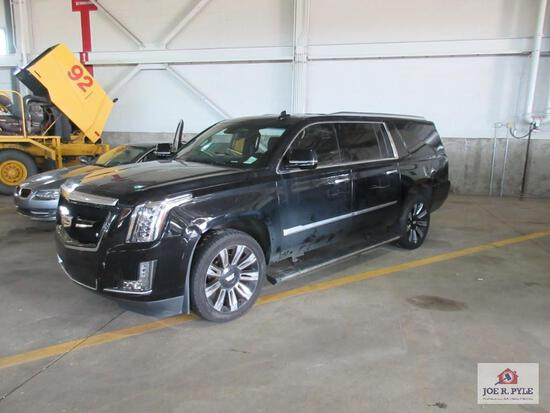 2016 Cadillac Escalade ESV Multipurpose Vehicle (MPV), VIN # 1GYS4KKJ5GR317240