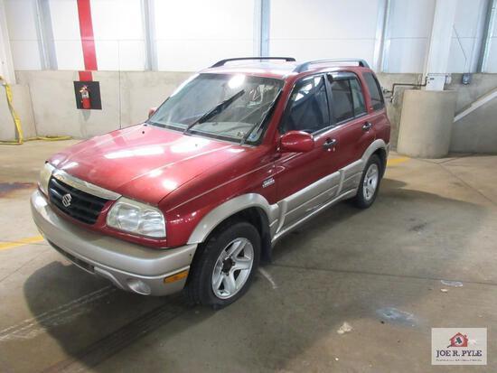 2002 Suzuki Grand Vitara Multipurpose Vehicle (MPV), VIN # JS3TD62V324160402