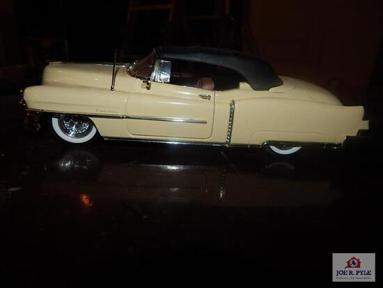 1953 Cadillac Eldorado model car