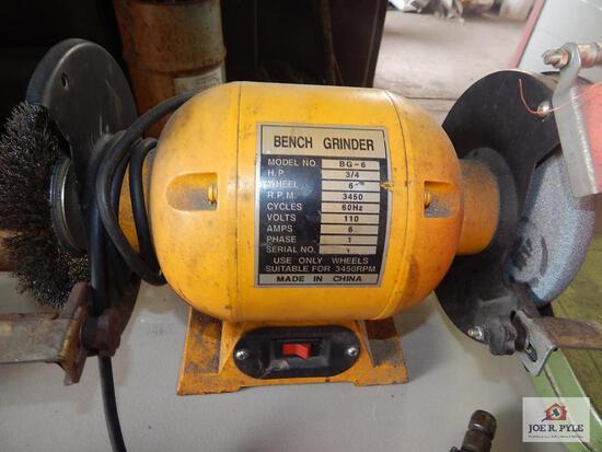 """6"""" Bench grinder"""