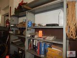 Shelf and contents part catalogs, etc.