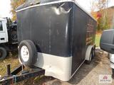 Trane box trailer approximately 16'