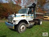 2003 International 7400, D+466 motor dump truck