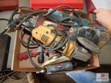 Lot of grinders and air sanders