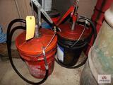 2.5-Gallon gear oil pumps
