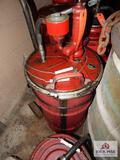 90 Weight gear oil pumps w/ carts