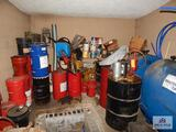 Anti-Freeze, barrel pumps and contents not to include the 2,275 gallon ? and pump