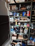 Contents of shelf - nails, bolts, screws, etc.