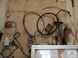 1 Lot of gaskets, hoses, copper tubing, etc.