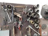 Filter wrenches, sockets, snap ring pliers, etc.