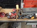 1 Flat of hole saws