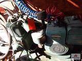 Air compressor w/ a 4-cycle Briggs & Stratton 11 HP motor