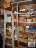 2 Shelves air filters, control valves, bolts, etc.
