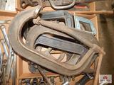 Large C-clamps
