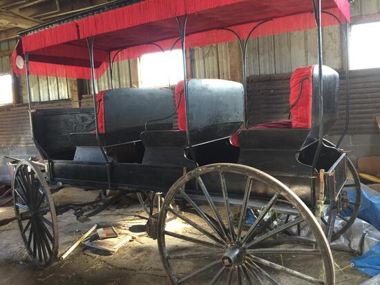 1800s Studebaker Surry, Antiques, Tools, & more